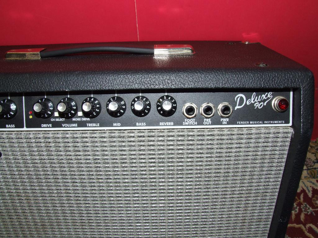 fender deluxe 90 amp excellent ebay. Black Bedroom Furniture Sets. Home Design Ideas